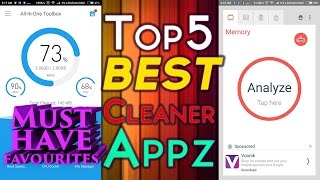 Best Android Cleaner Apps 2019 Top 5 Must Have Favourites!!