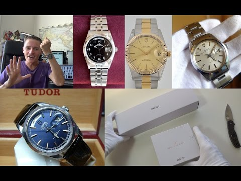 Watch Buyer's Guide Part 3 - What To Look For On Ebay - Hunting A Vintage Tudor & Double Unboxing