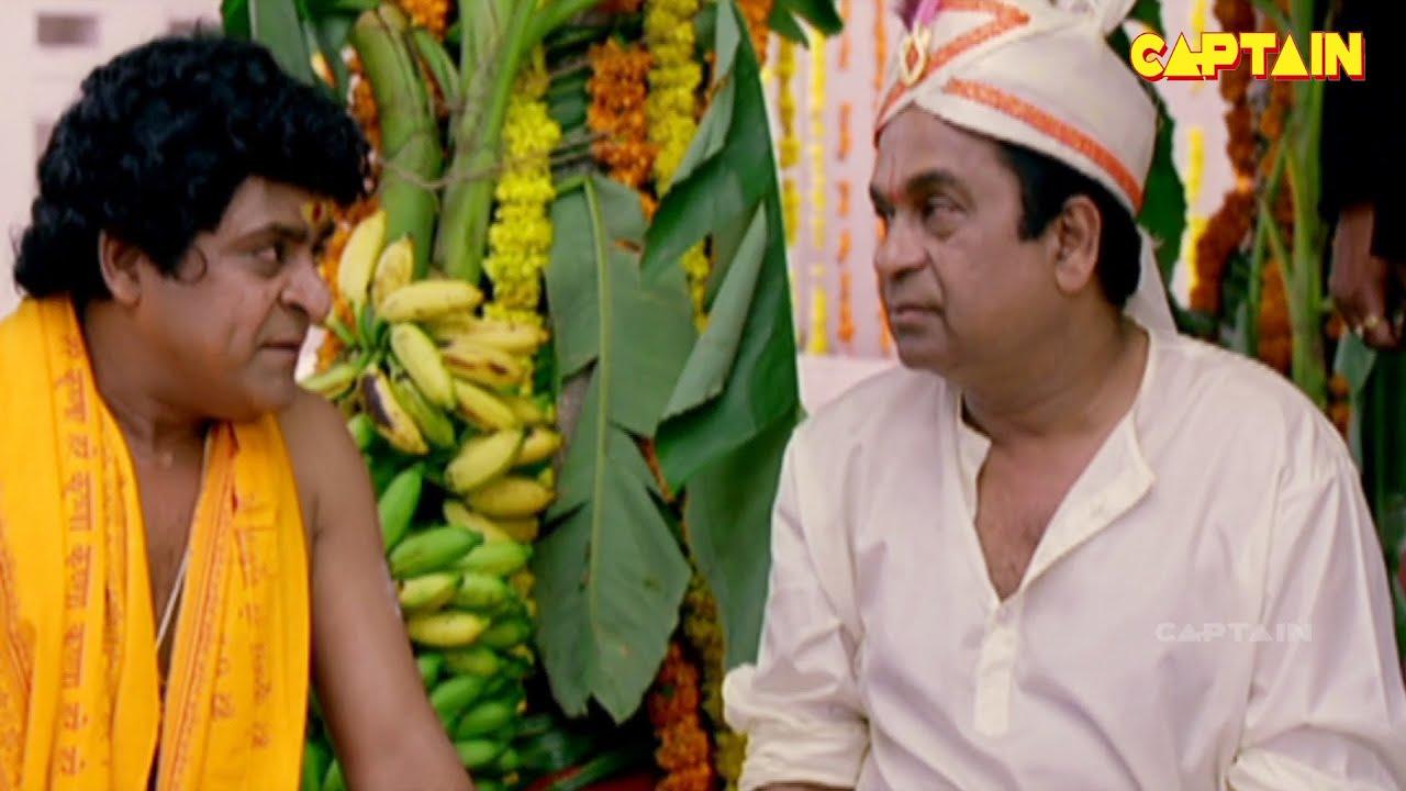 ब्रह्मानंदम और अली का जबरदस्त डब कॉमेडी सीन    Brahmanandam, Ali Dubbed Comedy Scenes