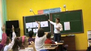 Урок математики в 1 а   Римские цифры Часть 1