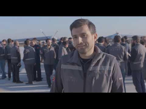 Bayraktar Akıncı İlk Uçuş - Bayraktar Akinci UAS Maiden Flight