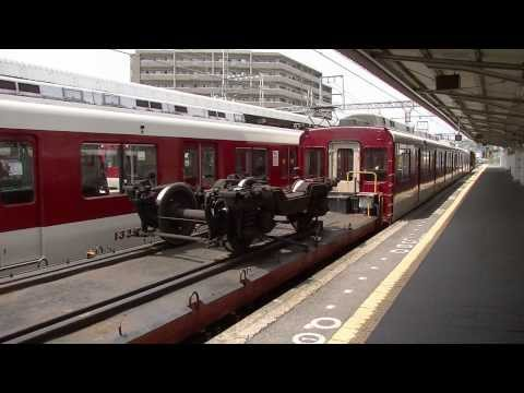 近鉄 東生駒車庫入換中 モト+7000系   by waka417