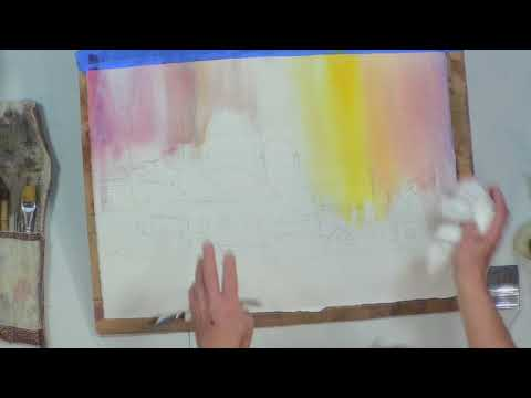 NEWS Watercolor Demonstration at the Guild of Boston Artists