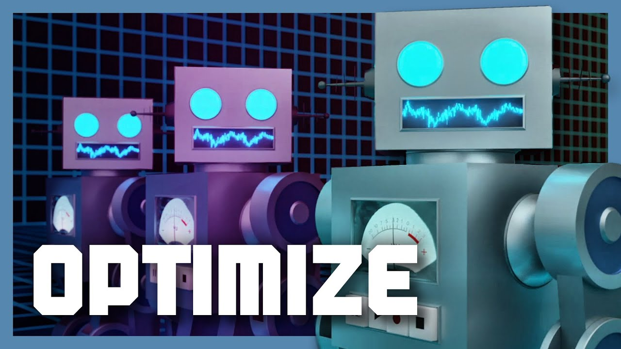 Optimize (Version 2.0) | [Revised Original Electronic Song With ROBOTS!]
