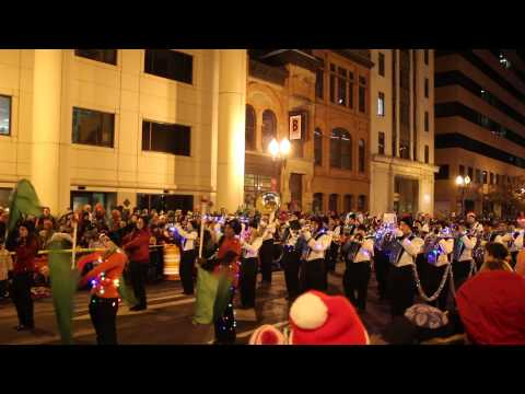 Silver Bells in the City 2014 Lansing Catholic High School