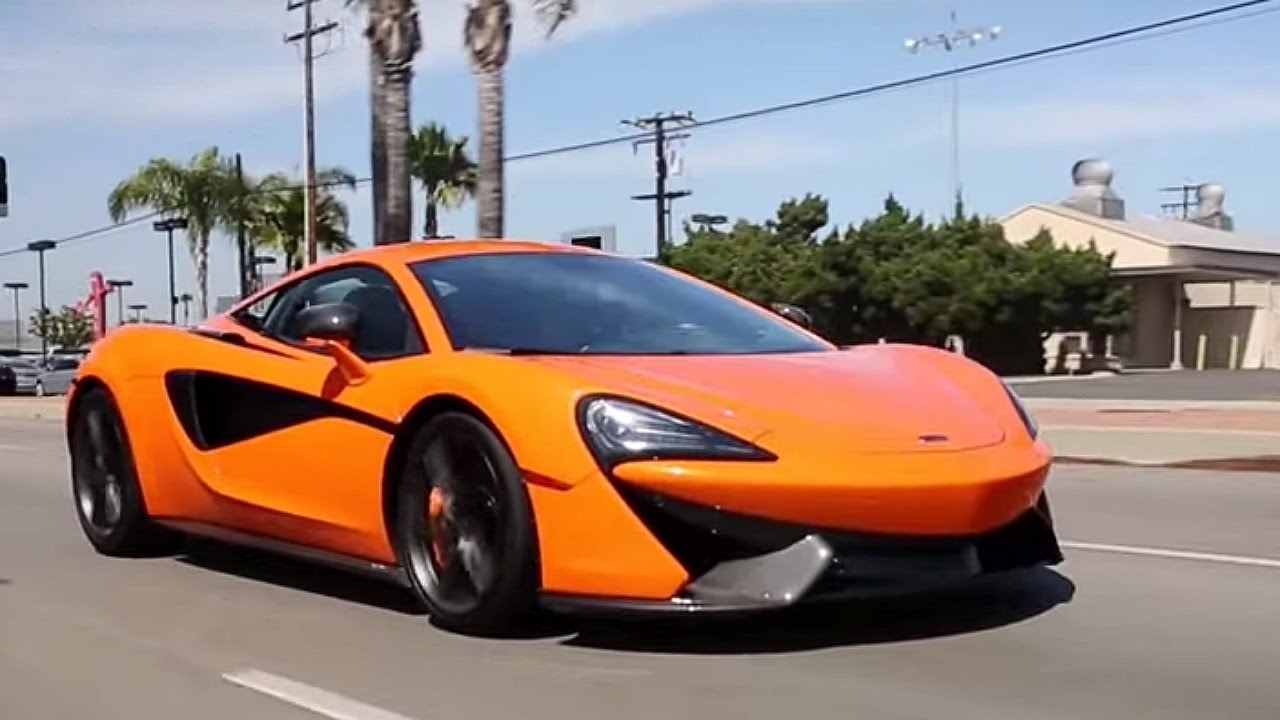 2016 mclaren 570s - review and road test - youtube