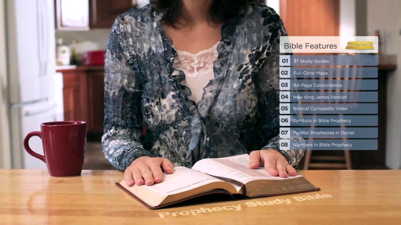 Genuine leather nkjv holy bible prophecy study edition with 27 genuine leather nkjv holy bible prophecy study edition with 27 amazing facts study guides review buycottarizona