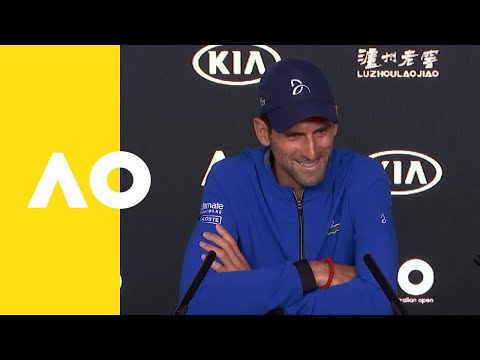 Novak Djokovic press conference (4R) | Australian Open 2019