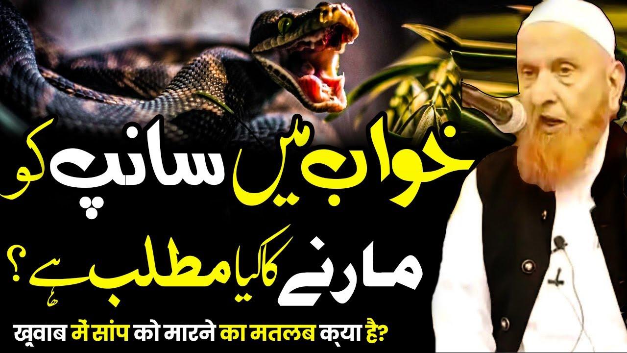 Khuwab Me Sanp (Snake) Ko Marny Ka Kya Matlab Hai - خواب میں سانپ کو مارنا - Sheikh Makki Al Hijazi