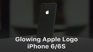 Glowing Logo On Iphone