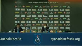 Anadolu Efes - TD Systems Baskonia Basın Toplantısı