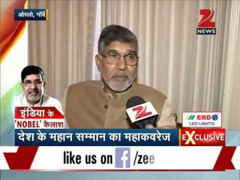 Watch: Zee Media exclusive interview with Kailash Satyarthi
