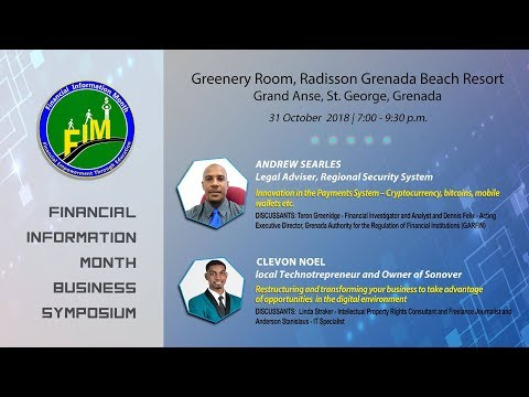 ECCB Financial Information Month Business Symposium 2018