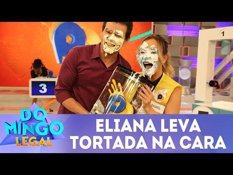 Eliana leva tortada no Passa ou Repassa | Domingo Legal (25/03/18)