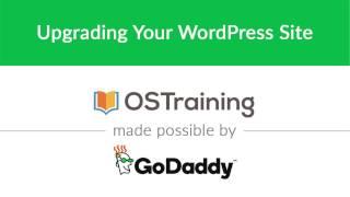 WordPress Beginner Tutorial #39: Upgrading Your WordPress Site