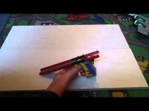 Lego Pistole Bauanleitung Teil 1 Youtube