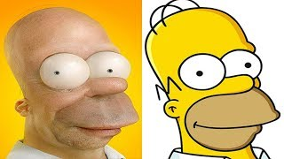 10 Cartoons Look-alikes Found in REAL LIFE