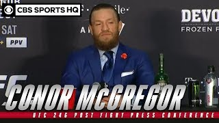 Download Conor McGregor: UFC 246 Post Fight Press Conference | CBS Sports HQ Mp3 and Videos