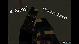 Quatro braços! Roblox Forças fantasma