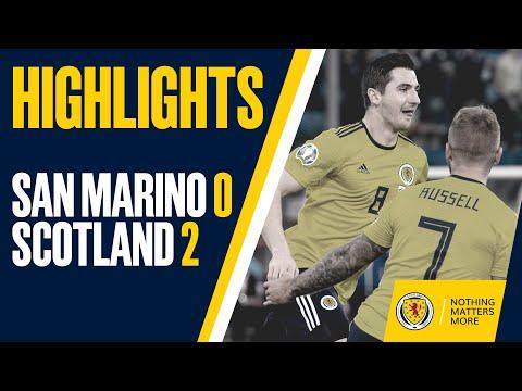 HIGHLIGHTS   San Marino 0-2 Scotland