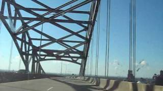 Driving into Duluth Minnesota-Superior Wisconsin