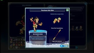 Fortnite Skins In Brawlhalla Kinda sus