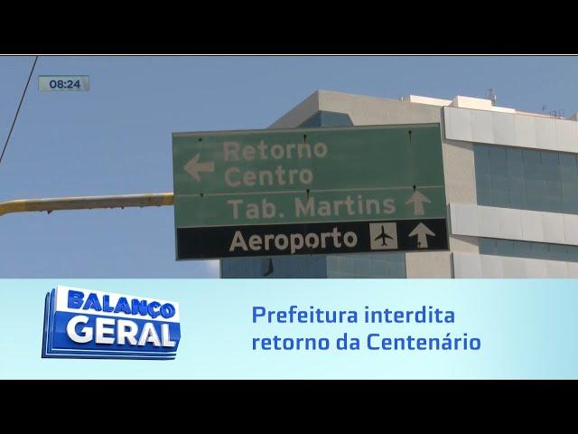 Trânsito: Prefeitura de Maceió interdita retorno da Centenário durante obra