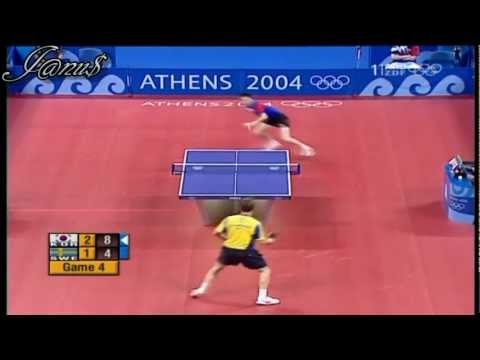 2004 Olympics (ms-sf) RYU Seung Min - WALDNER Jan Ove [Full Match|Short Form]