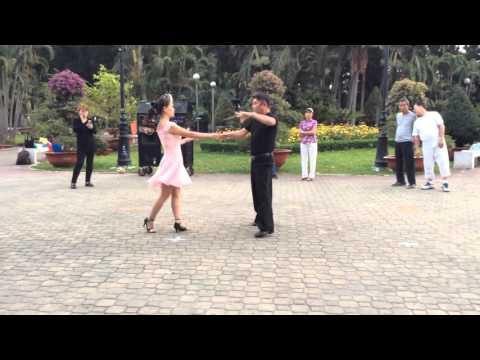 Rumba bài 3- CLB Khiêu vũ dưỡng sinh Nhịp sống vui