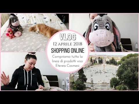 FACCIAMO SHOPPING ONLINE! COMPRO TUTTI I PRODOTTI VISO ECO BIO - Vlog giovedì 12 Aprile 2018
