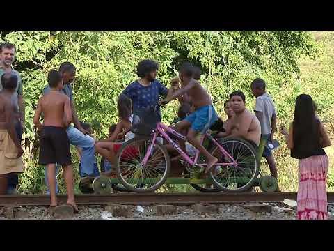 Biciclotrem na Rede Minas