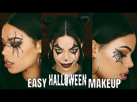 CHIT CHAT : 3 EASY LAST MINUTE HALLOWEEN MAKEUP LOOKS! 🎃 👻
