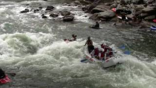 April 17, 2010 - First day of rafting on the Ocoee River in Tennessee for 2010