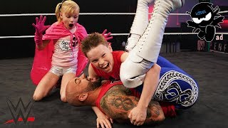 Ninja Kidz vs WWE Ricochet! Super Stars in Training!
