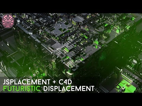 Tutorial: Circuits and Futuristic Displacements (JSplacement + C4D)