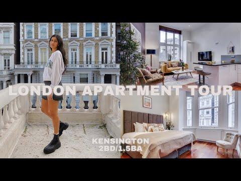 Modern London Apartment Tour | Kensington | 2bd/1.5ba