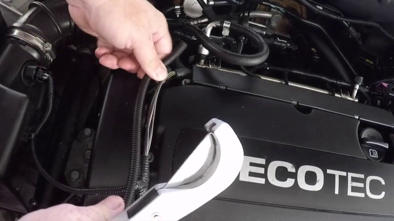 quick tip protecting wiring harness and tidying up engine bay [ 1280 x 720 Pixel ]