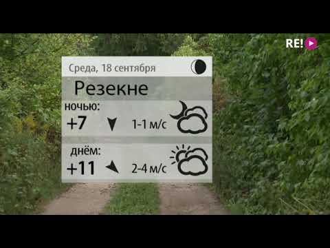 Прогноз погоды на 18.09