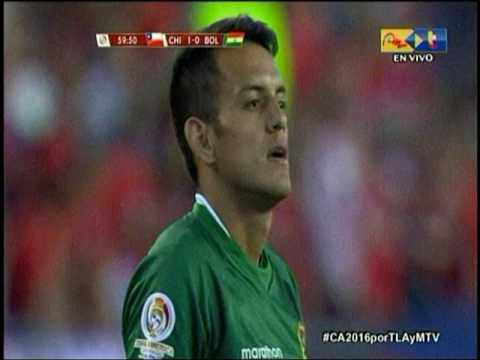 Jhasmani Campos hizo una perla de gol