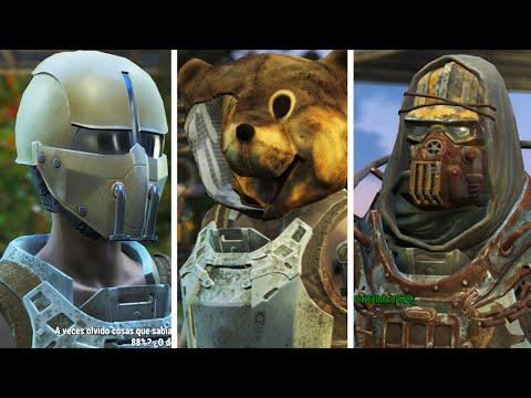 Fallout 4: Encontrar y Obtener Synth Field Helmet, Cabeza de Mascota y Armadura de Jaula con Casco