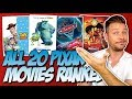 All 20 Pixar Movies Ranked From Worst To Best!