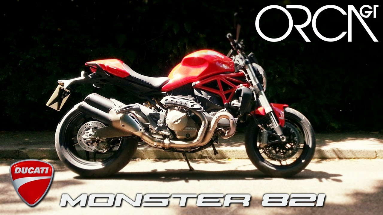 2014 ducati monster 821 test ride amp review youtube