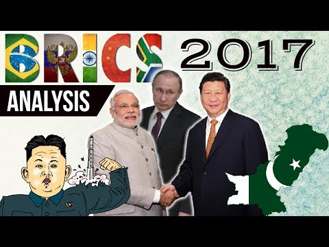 BRICS Summit 2017 Xiamen, China -  Complete analysis in Hindi - Current Affairs