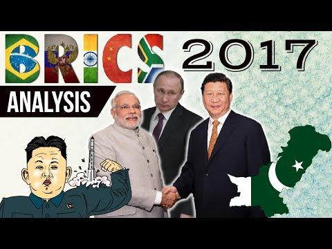 BRICS Summit 2017 Xiamen, China -  Complete analysis in Hindi - Current Affairs