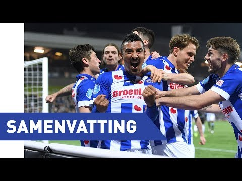 Eredivisie speelronde 31: VVV-Venlo - sc Heerenveen (2017/2018)