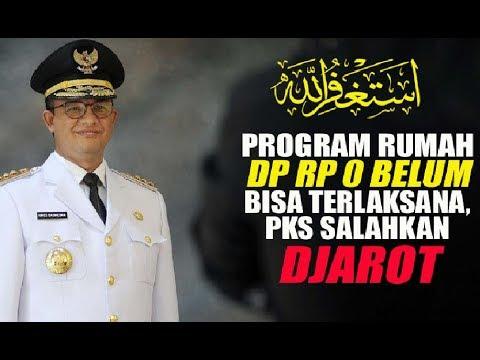 Astagfirullah! PKS Salahkan Djarot jika Program Rumah DP Rp 0 Tidak Bisa Terlaksana