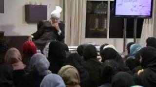 Gulshan-e-Waqfe Nau (Lajna) Class: 5th December 2009 - Part 7 (Urdu)