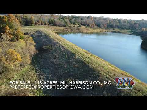 For Sale - 118 Acres, ML, Harrison Co., Mo - with Home - Timber & Quality Crop Land