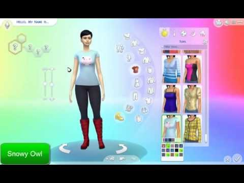 the sims 4 mods and cc cute t shirts tasty lips pretty nails shiny hair and colorful