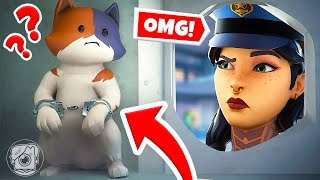 KIT BREAKS OUT OF PRISON! (Fortnite Cops & Robbers)